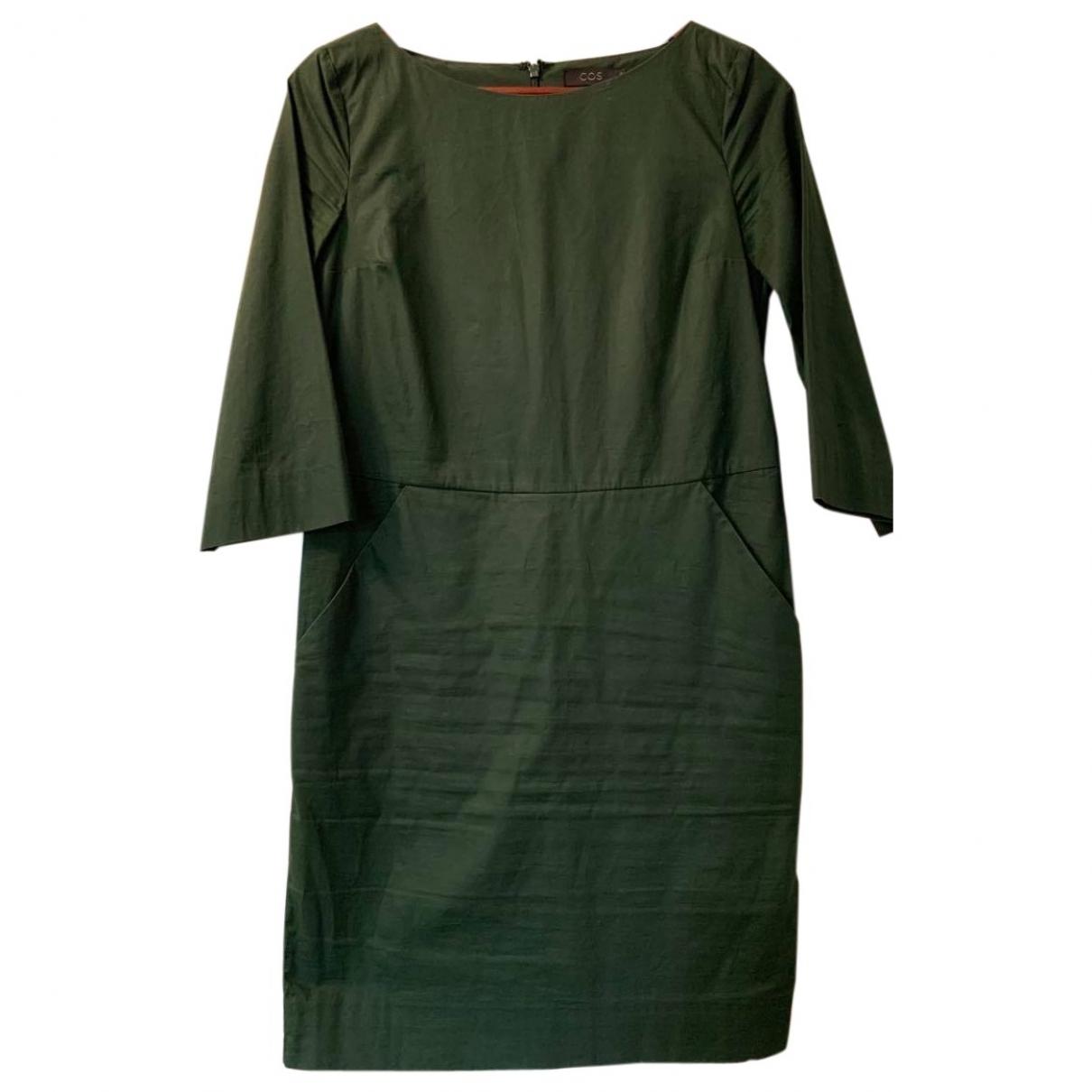 Cos - Robe   pour femme en coton - vert