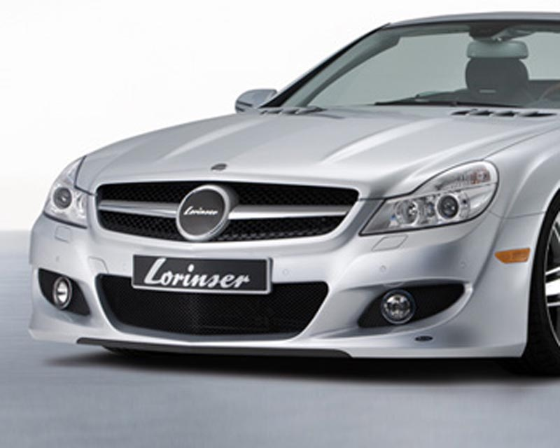 Lorinser 488 0230 0810 Elite Front Bumper Cover Mercedes-Benz SL-Class w/o Parktronic 09-12