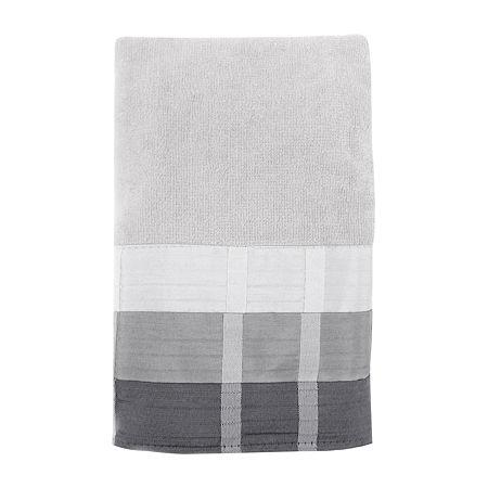 Croscill Classics Fairfax Bath Towels, One Size , Black