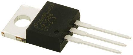 Texas Instruments LM1086CT-3.3/NOPB, LDO Regulator, 1.5A, 3.3 V 3-Pin, TO-220