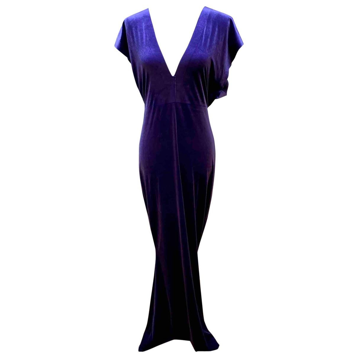 Norma Kamali \N Velvet dress for Women M International