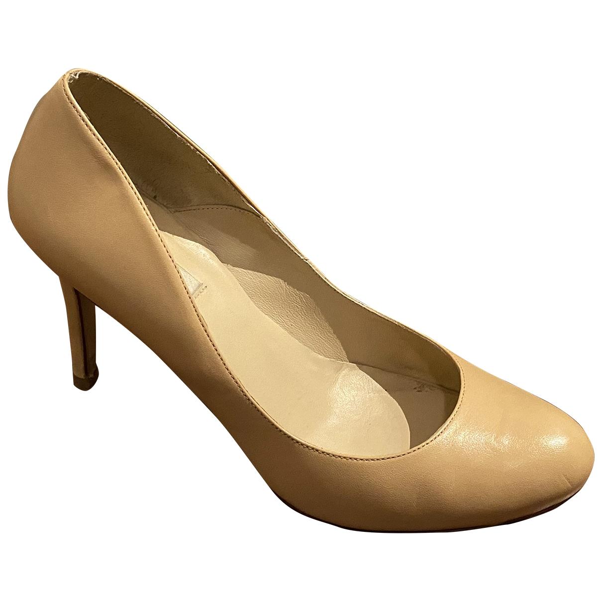Lk Bennett - Escarpins   pour femme en cuir - beige