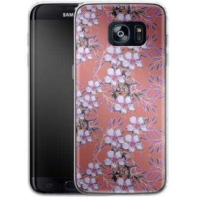 Samsung Galaxy S7 Edge Silikon Handyhuelle - Inaya von Zala Farah