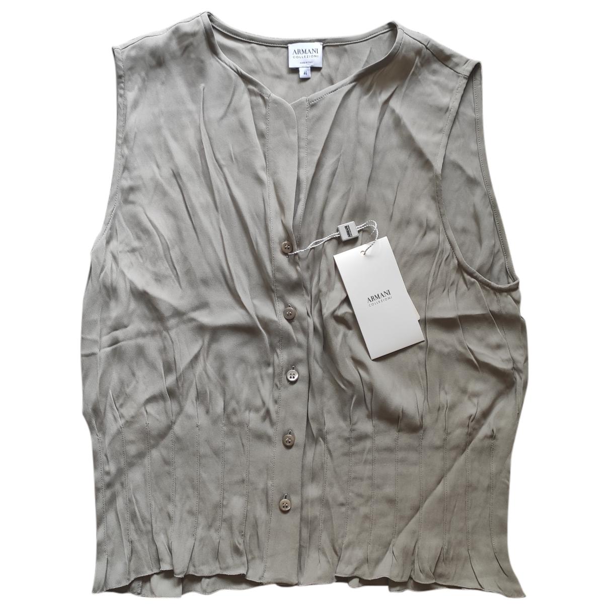 Camiseta sin mangas Armani Collezioni