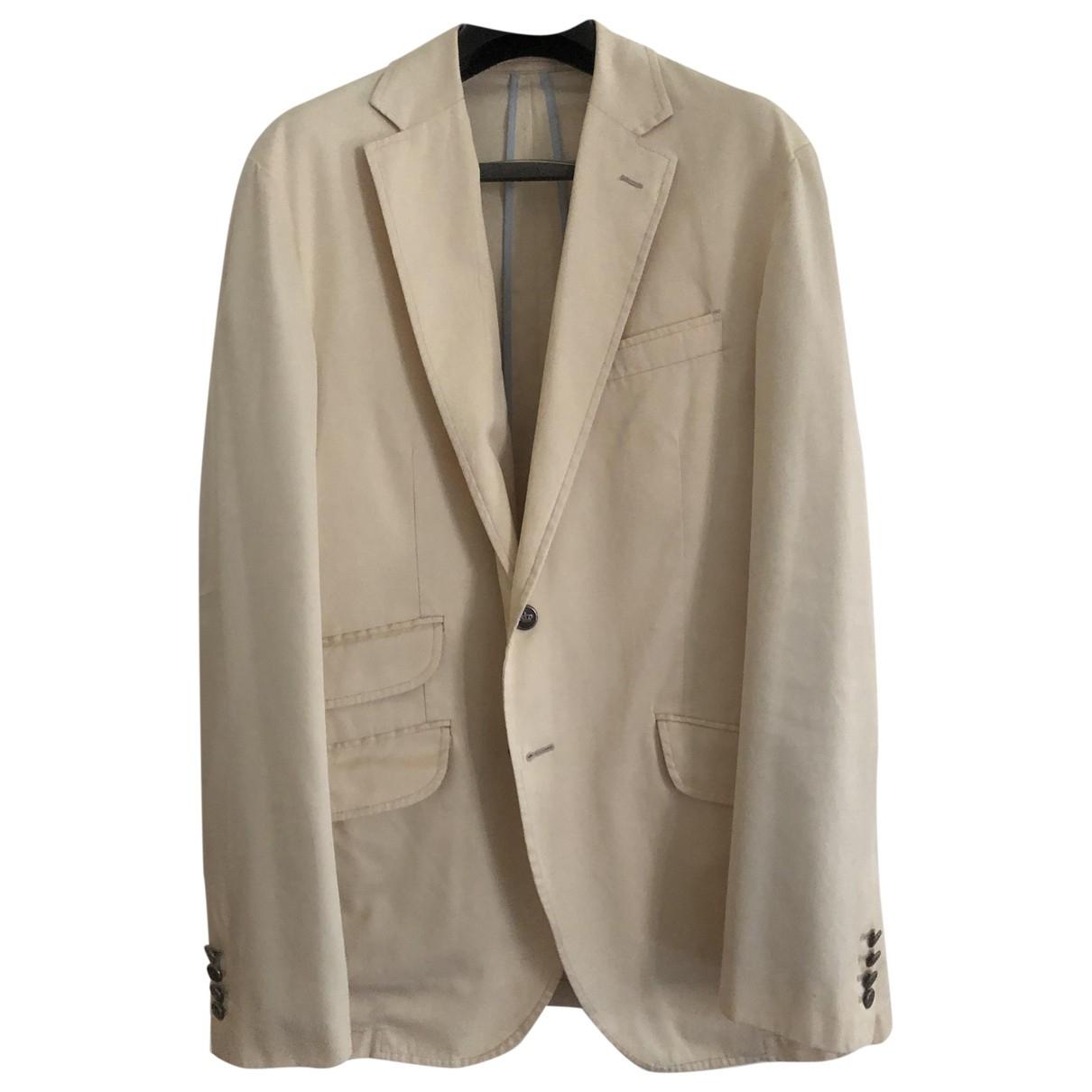 Hackett London \N Beige Cotton jacket  for Men 46 UK - US