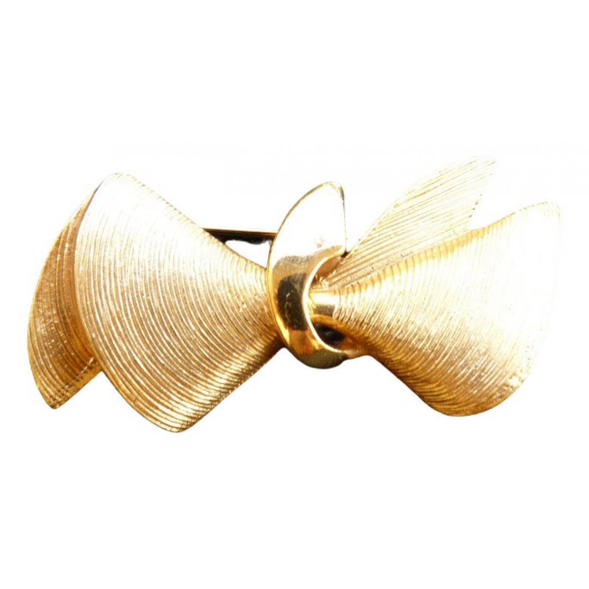 Guy Laroche \N Brosche in  Gold Metall