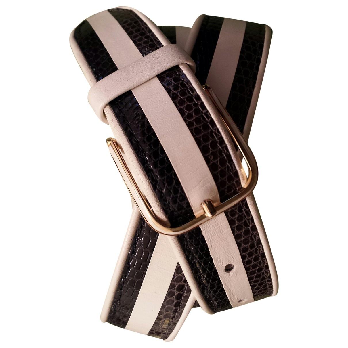 Cinturon de Cueros exoticos Non Signe / Unsigned