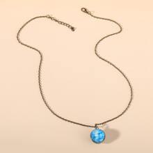Halskette mit Galaxie Anhaenger