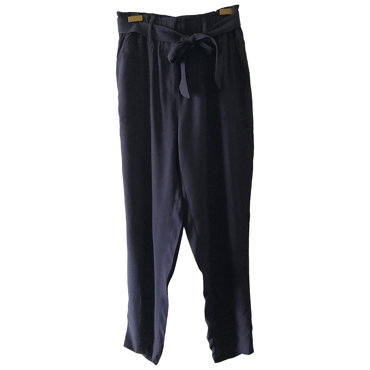 Stella Forest N Navy Trousers for Women 38 FR
