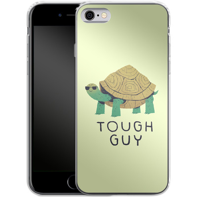 Apple iPhone 6s Silikon Handyhuelle - Tough Guy von Louis Ros