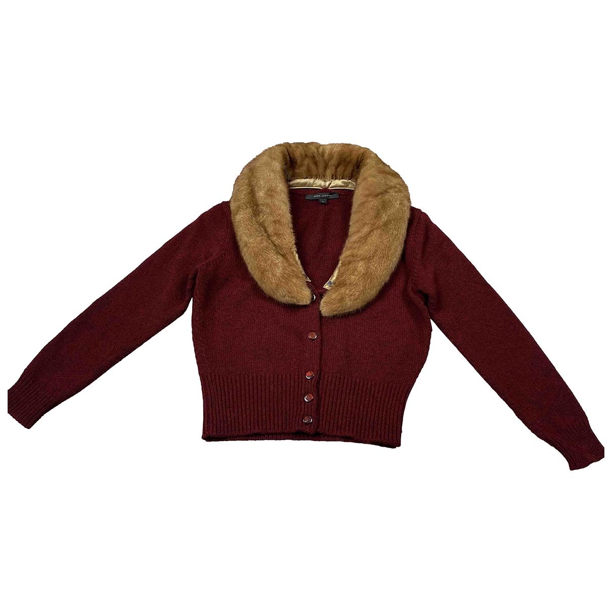 Marc Jacobs - Pull   pour femme en cachemire - rouge