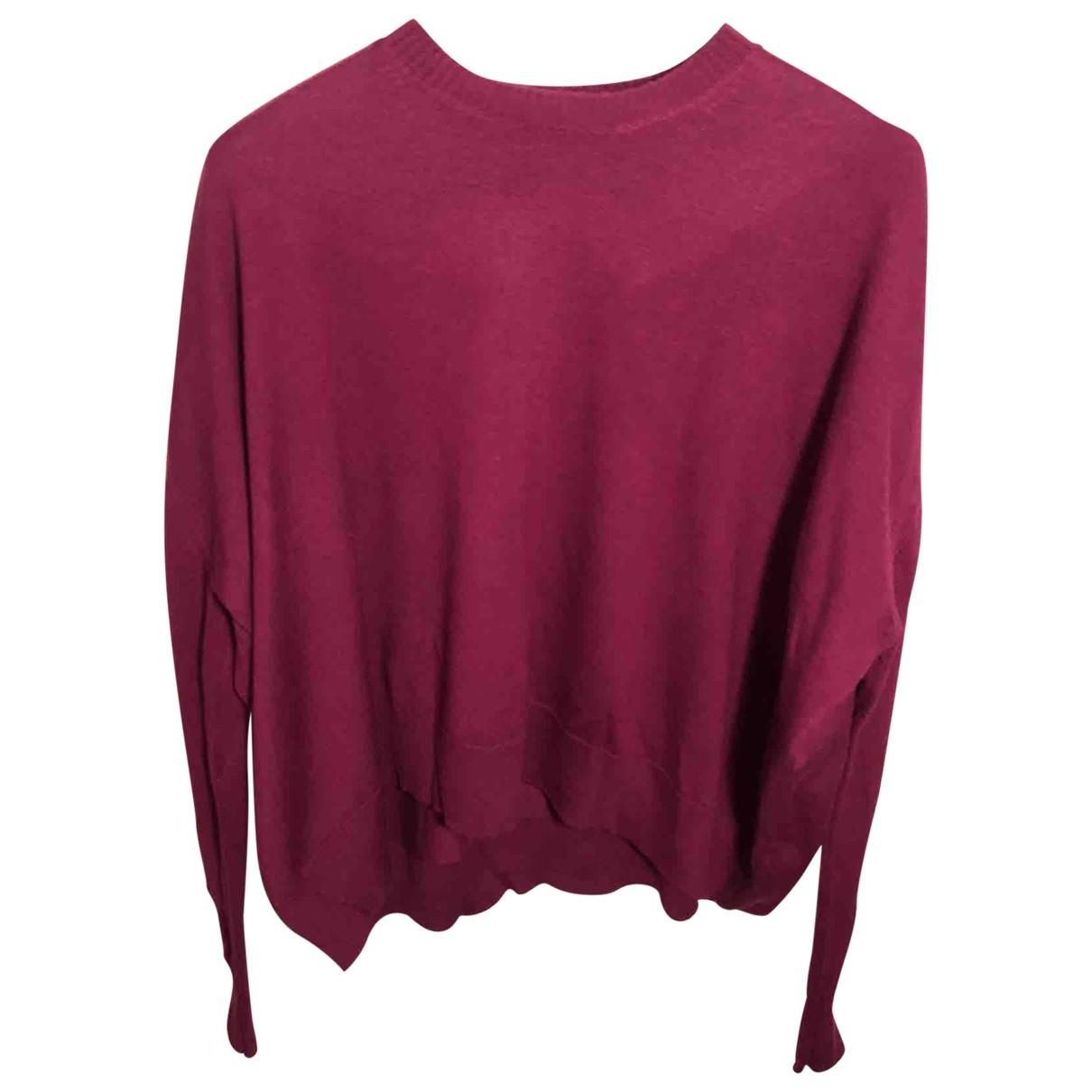 Diesel Black Gold \N Burgundy Wool Knitwear for Women XS International