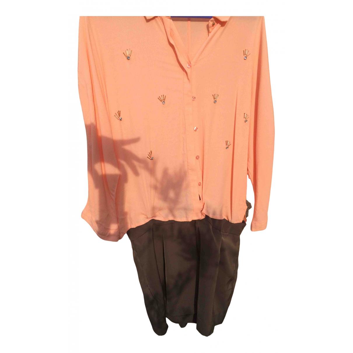 Ikks N Orange jumpsuit for Women One Size FR