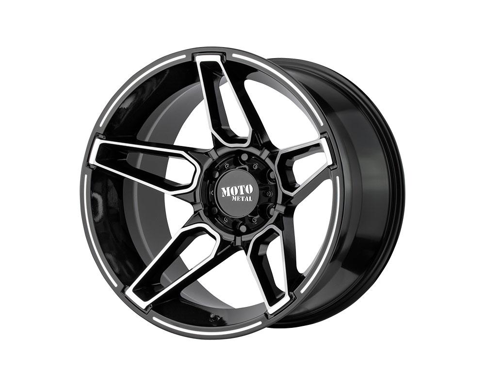 Moto Metal MO99421080318N MO994 Fang Wheel 20x10 8x8x165.1 -18mm Gloss Black Machined