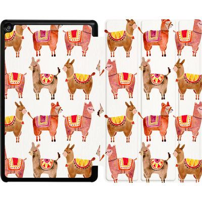 Amazon Fire HD 8 (2018) Tablet Smart Case - Alpacas von Cat Coquillette