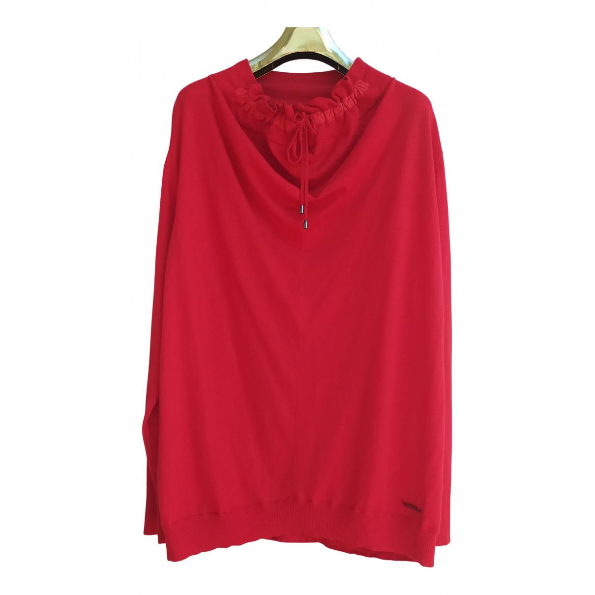 Krizia N Red Wool Knitwear for Women L International