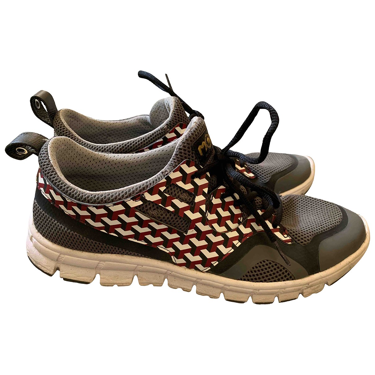 Moa Master Of Arts \N Sneakers in  Grau Leinen