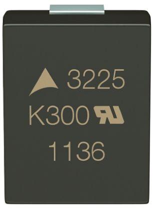 EPCOS , CU Metal Oxide Varistor 75pF 5A, Clamping 455V, Varistor 270V, 1210 (3225M) (5)