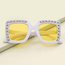 Kleinkind Kinder Strass getonte Linse Sonnenbrille