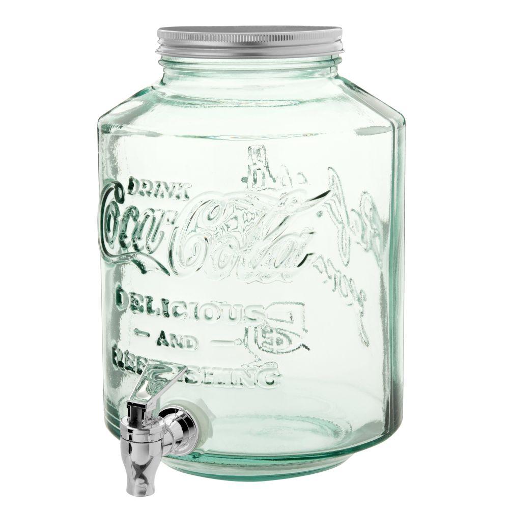 Getraenkebrunnen aus Glas 5l