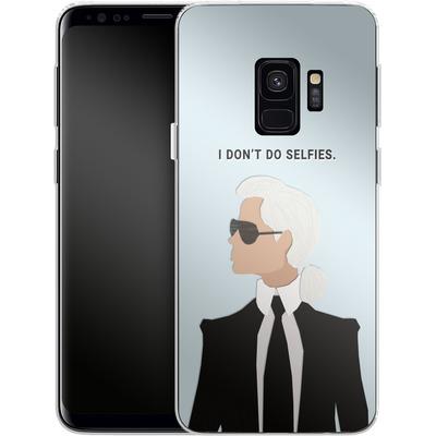 Samsung Galaxy S9 Silikon Handyhuelle - Lagerfeld von caseable Designs