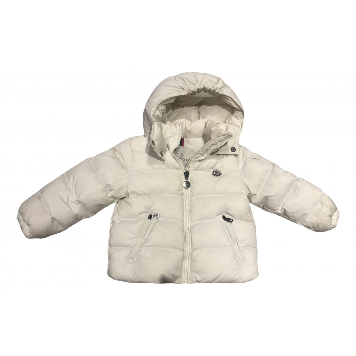 Moncler - Blousons.Manteaux Classic pour enfant - blanc