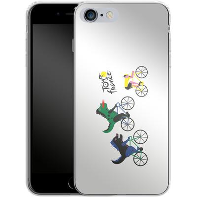 Apple iPhone 6s Plus Silikon Handyhuelle - Monster Race von Le Tour de France