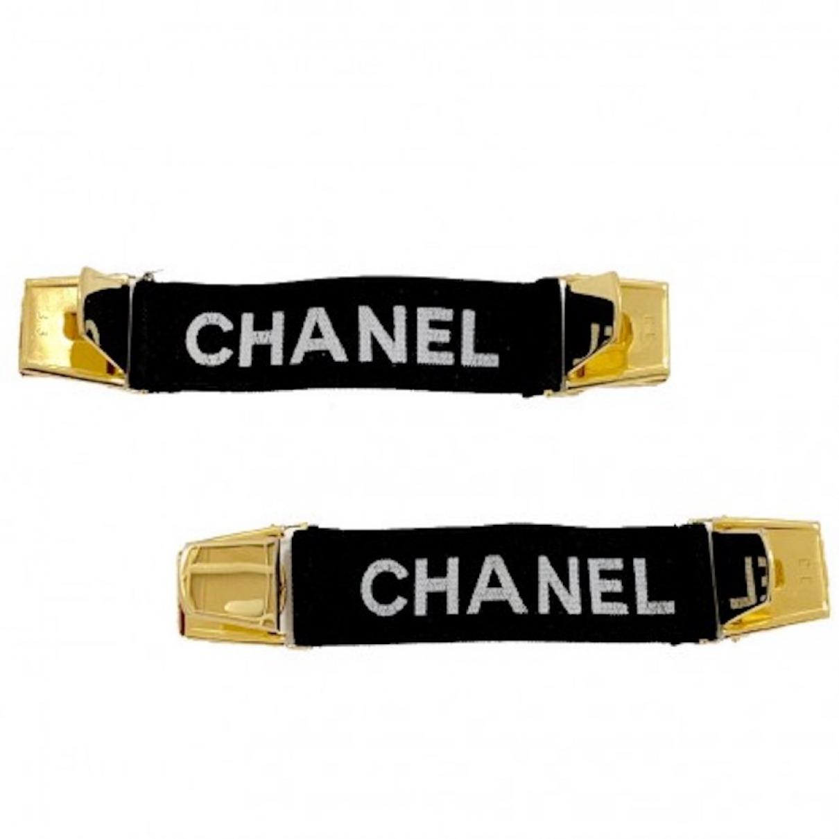 Chanel - Petite maroquinerie   pour femme en coton - noir