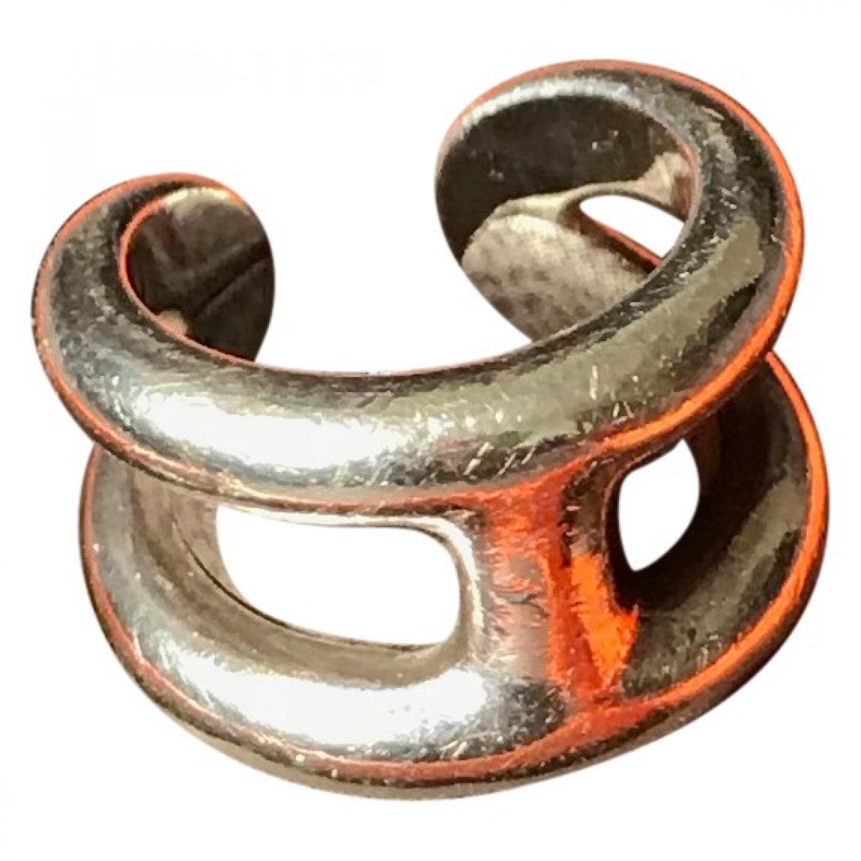 Hermes - Bague Osmose pour femme en argent - argente