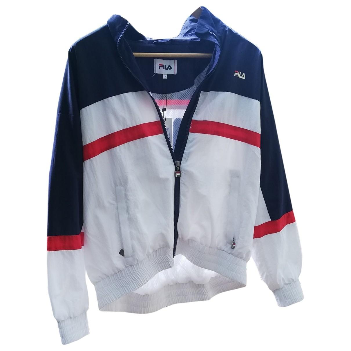 Fila \N White jacket for Women 36 FR