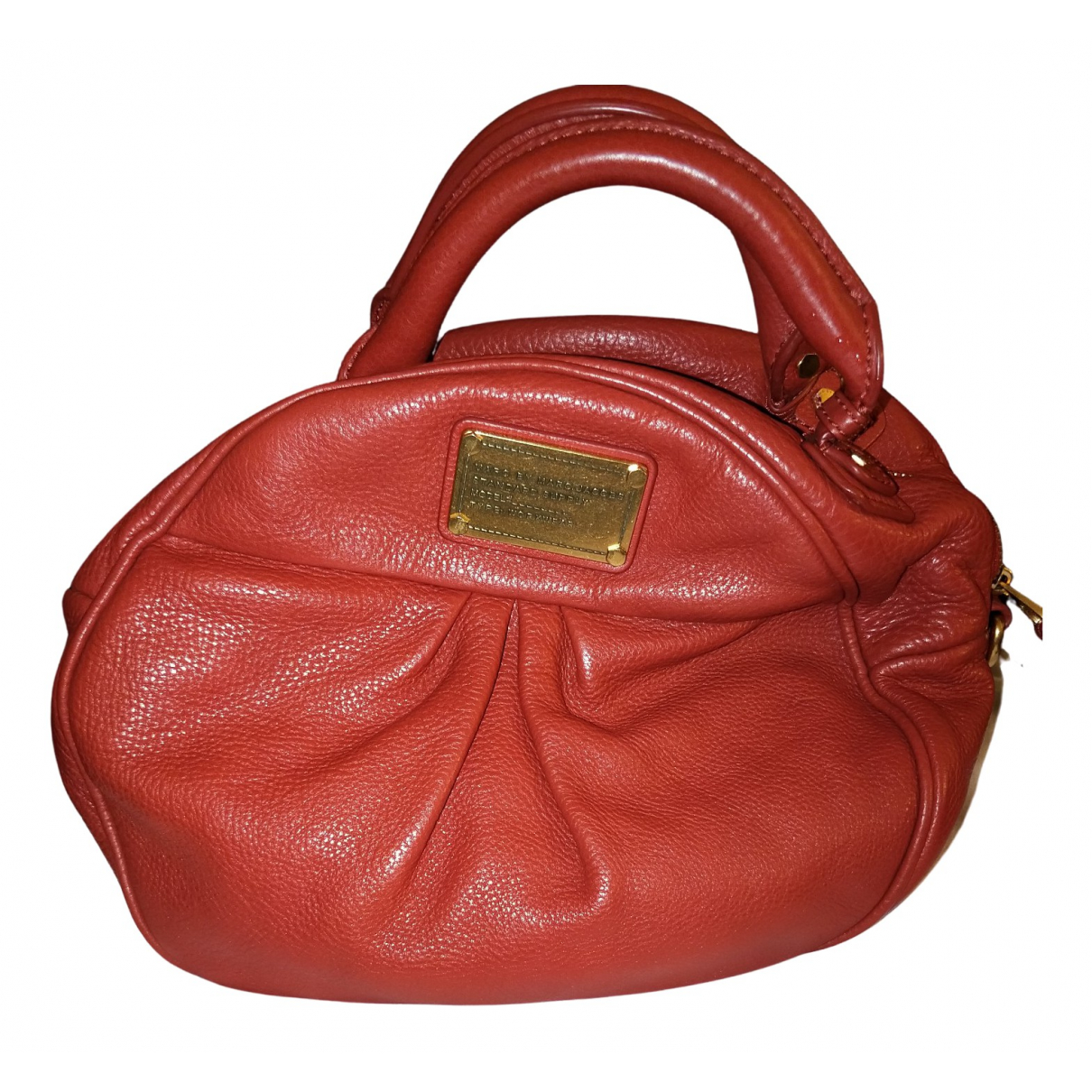 Marc By Marc Jacobs \N Handtasche in  Rot Leder