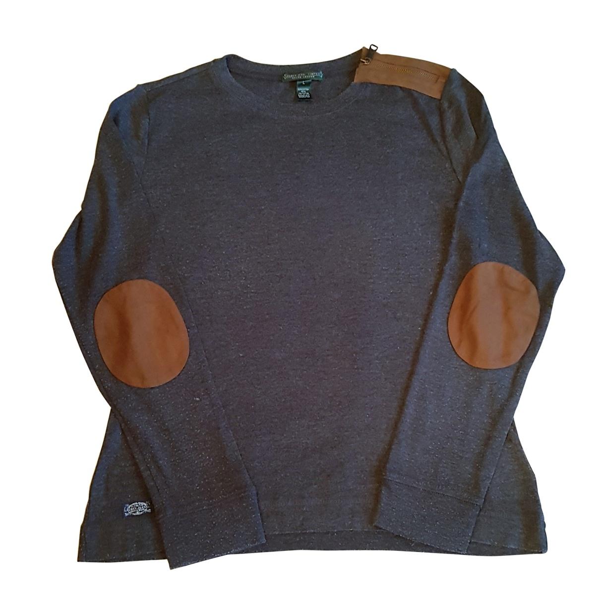 Ralph Lauren \N Top in  Grau Baumwolle