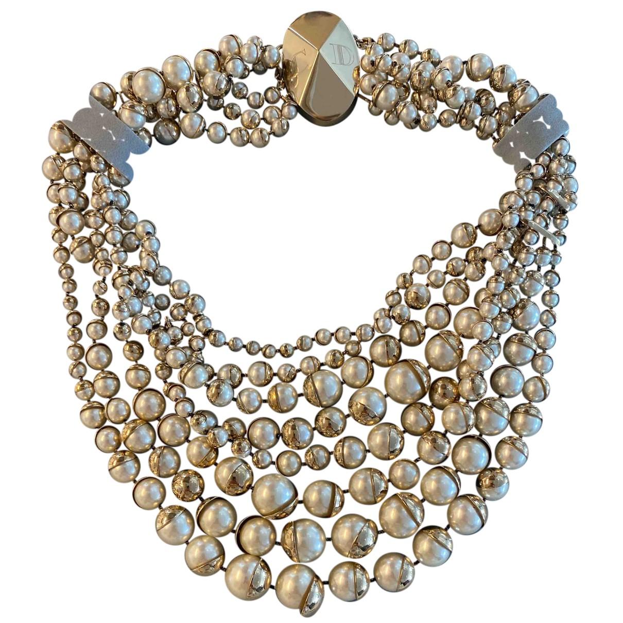 Collar con Perla Dior