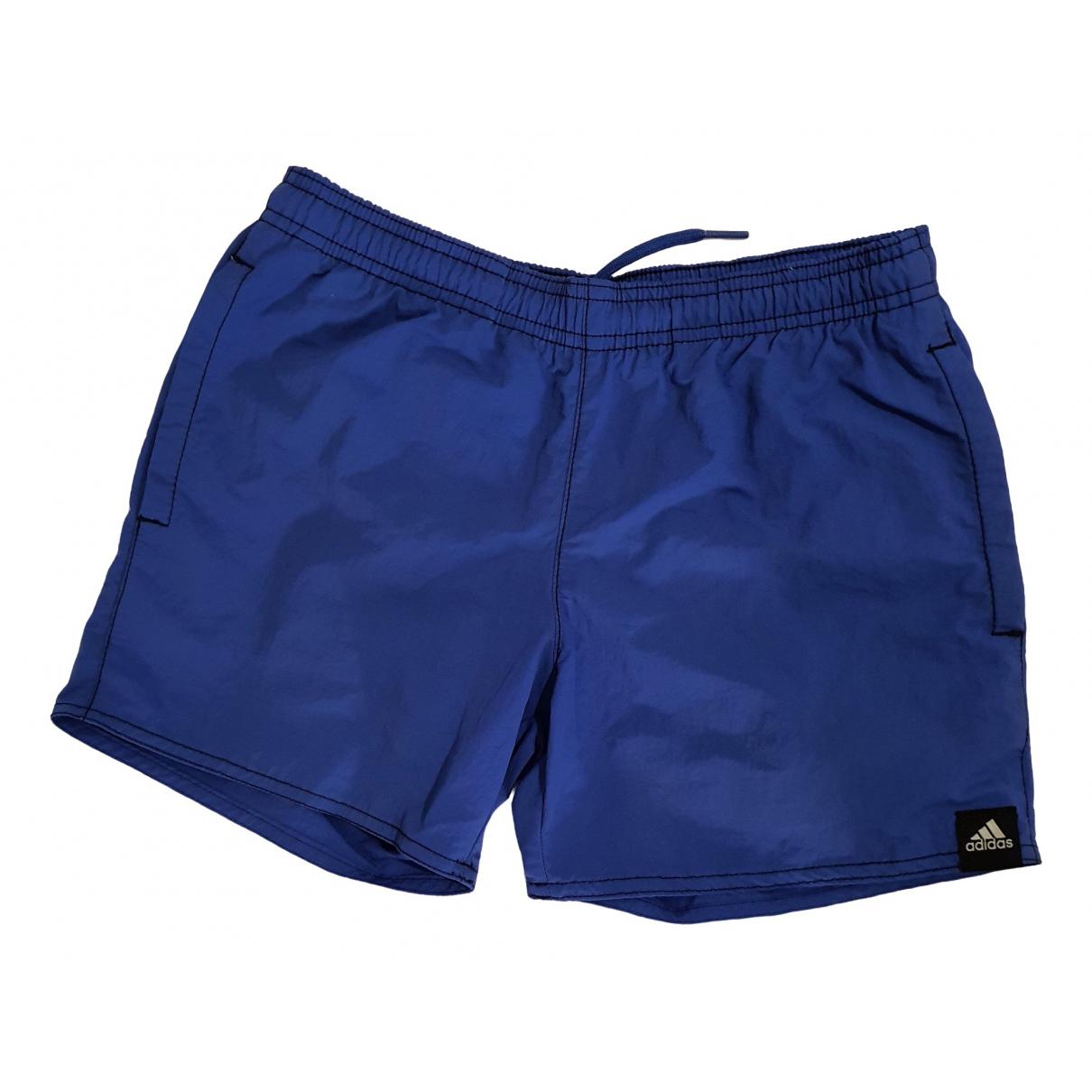 Adidas - Short   pour enfant - bleu