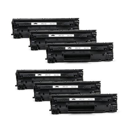 Compatible Canon 137 Black Toner Cartridge (9435B001) - Moustache@ - 6/Pack