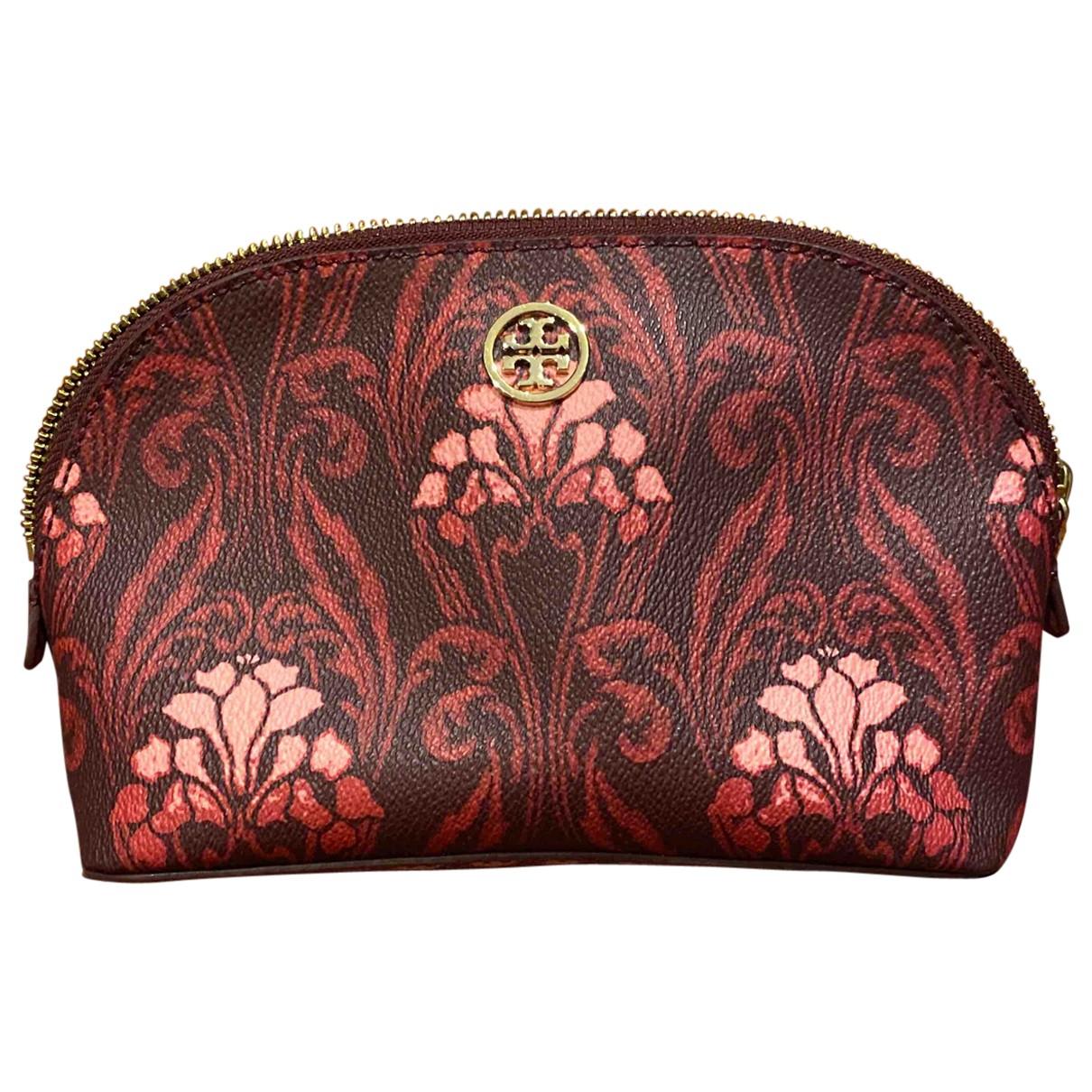 Tory Burch N Burgundy Leather Clutch bag for Women N