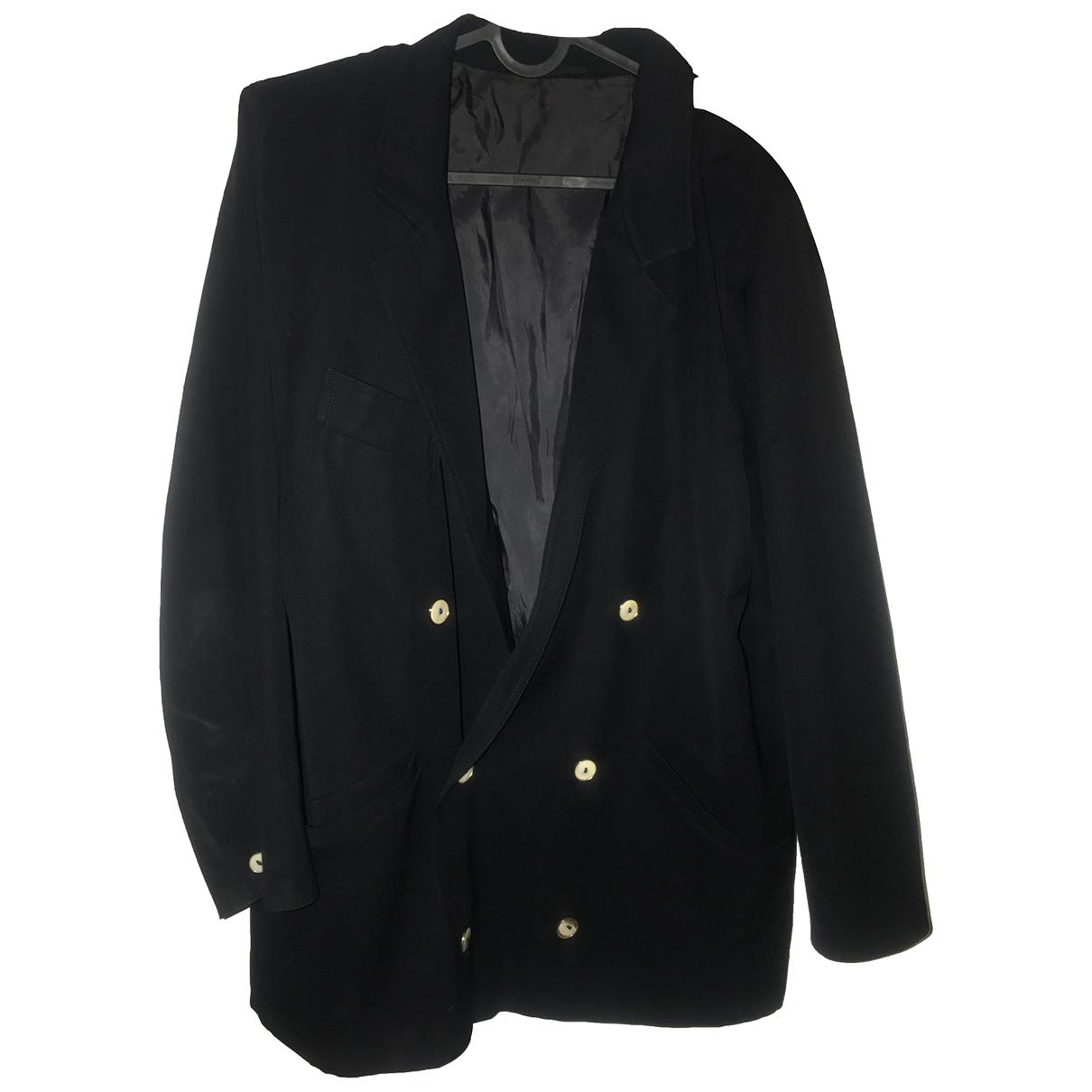 Max Mara \N Navy Wool jacket for Women 44 FR
