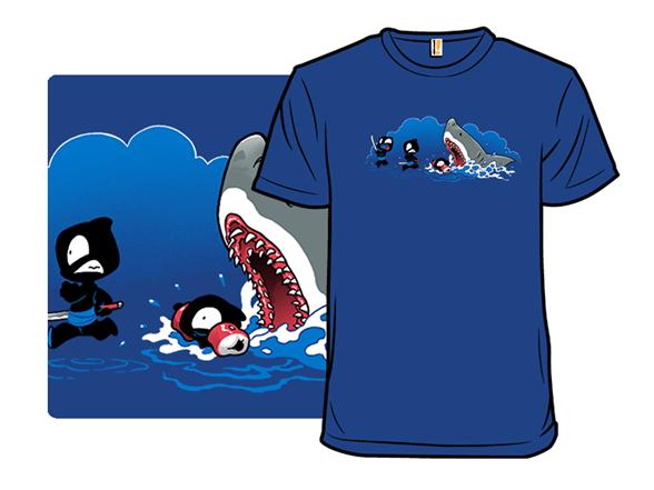Unstealthiest Ninja: Shark T Shirt