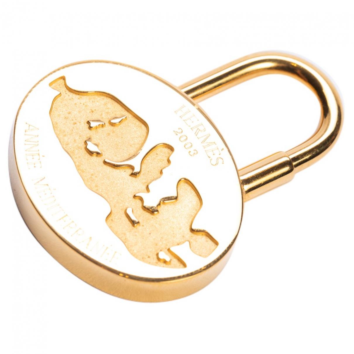 Hermes - Bijoux de sac   pour femme en metal - dore