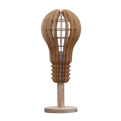 FMI1024-NATURAL Fine Mod Imports Socket Table Lamp in Natural