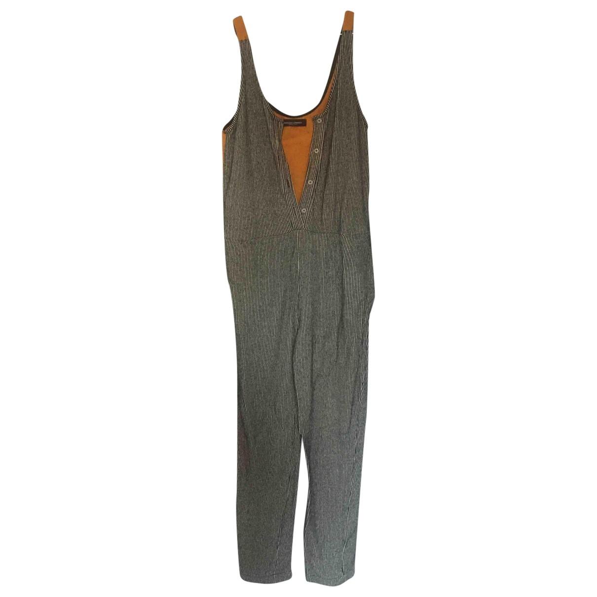 Margaux Lonnberg \N Black Cotton jumpsuit for Women 34 FR