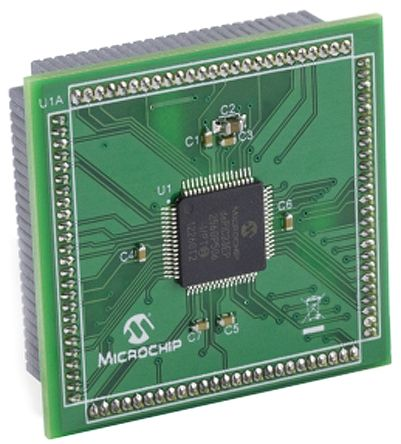 Microchip dsPIC33EP256GP506 TQFP64 to 100-Pin PIM