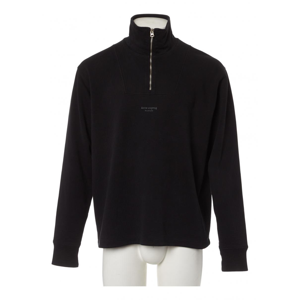 Acne Studios N Black Cotton Knitwear & Sweatshirts for Men S International