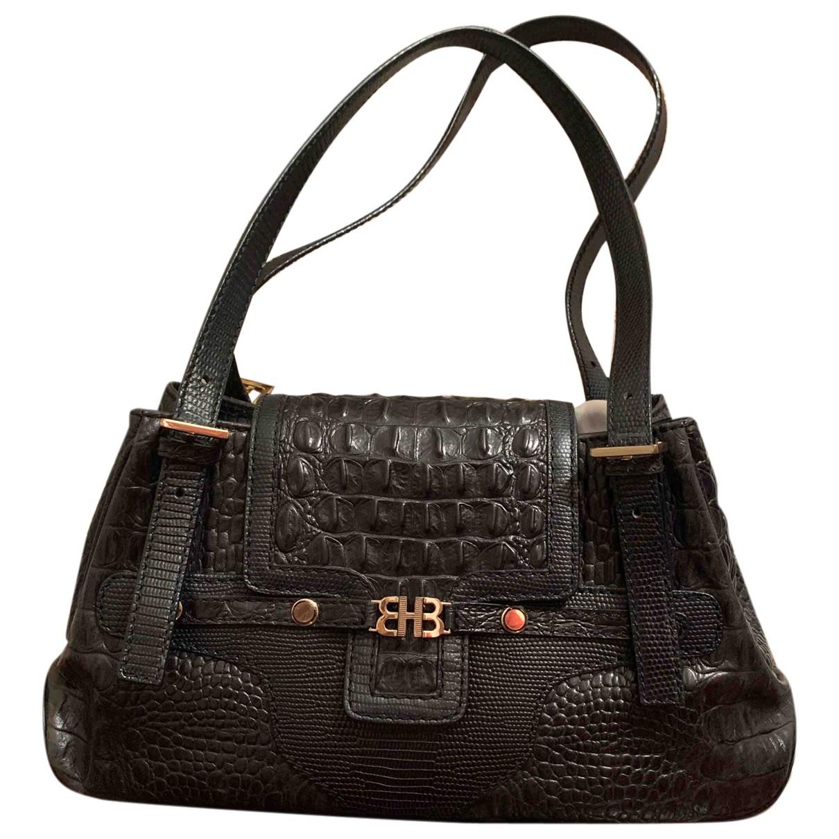 Hugo Boss N Black Leather handbag for Women N