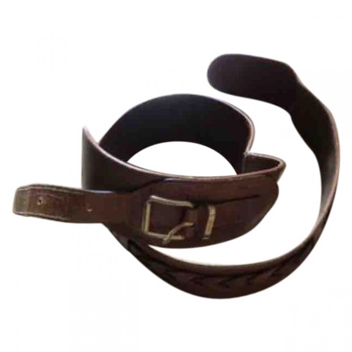 Cinturon de Cuero Fendi
