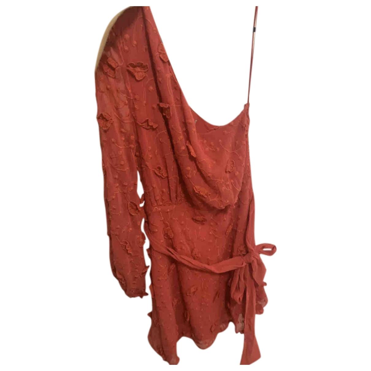 La Maison Talulah \N Kleid in  Rot Polyester