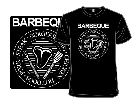 Bbq Rock Star T Shirt