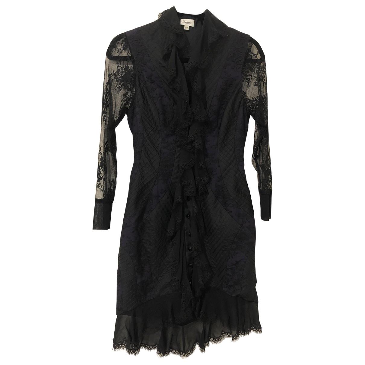 Temperley London - Robe   pour femme en soie - noir