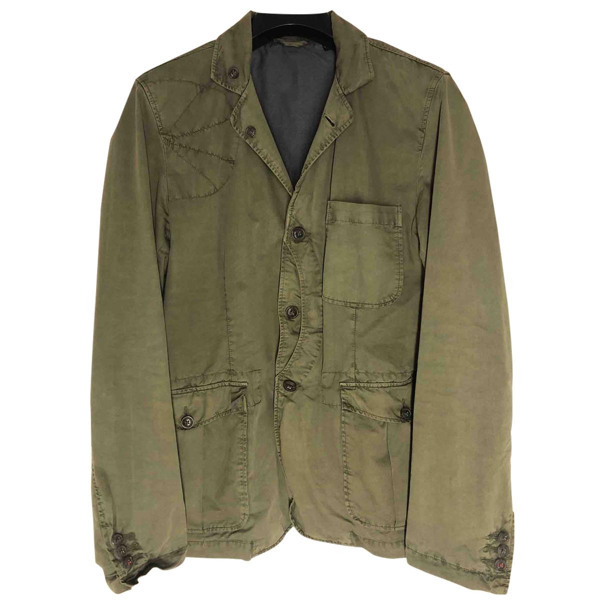 Woolrich - Vestes.Blousons   pour homme en coton - kaki