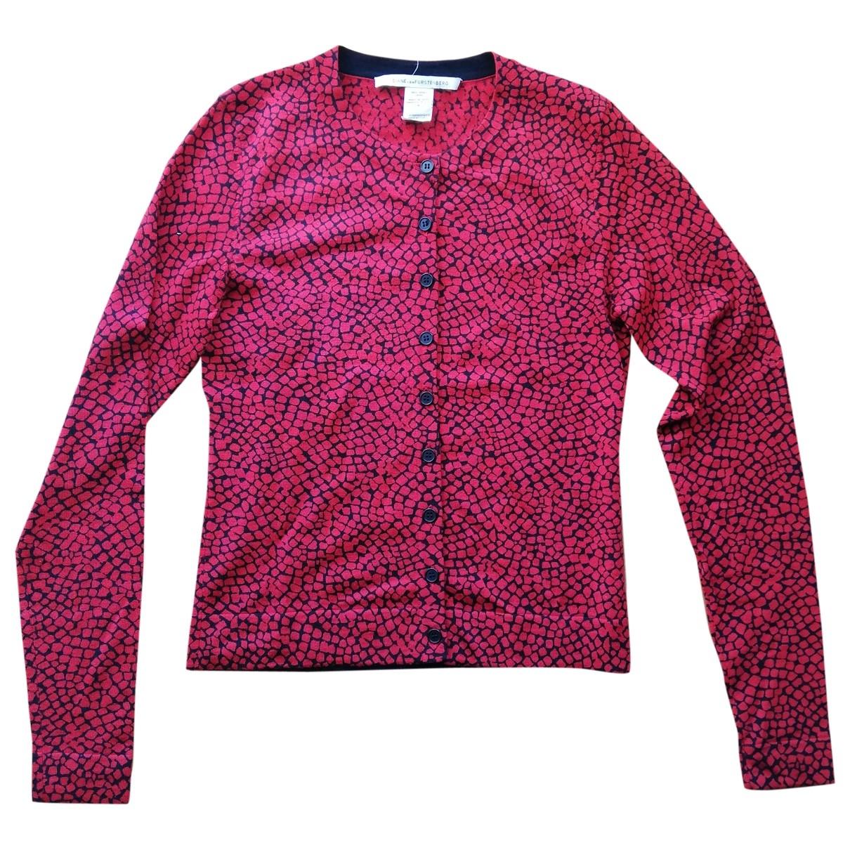 Diane Von Furstenberg \N Top in  Rot Wolle